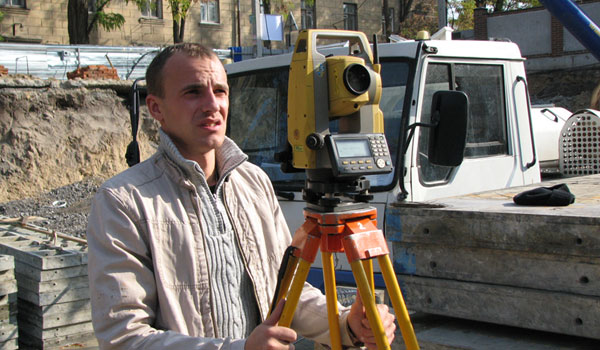 Where to find a surveyor in Kiev