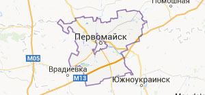 Topographic mapping, Geology Pervomaisk, surveying, removal of boundaries