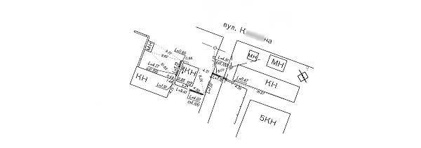 канализации схема