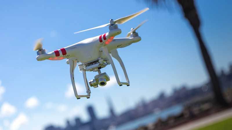 the Identification of illegal buildings using drones and drones