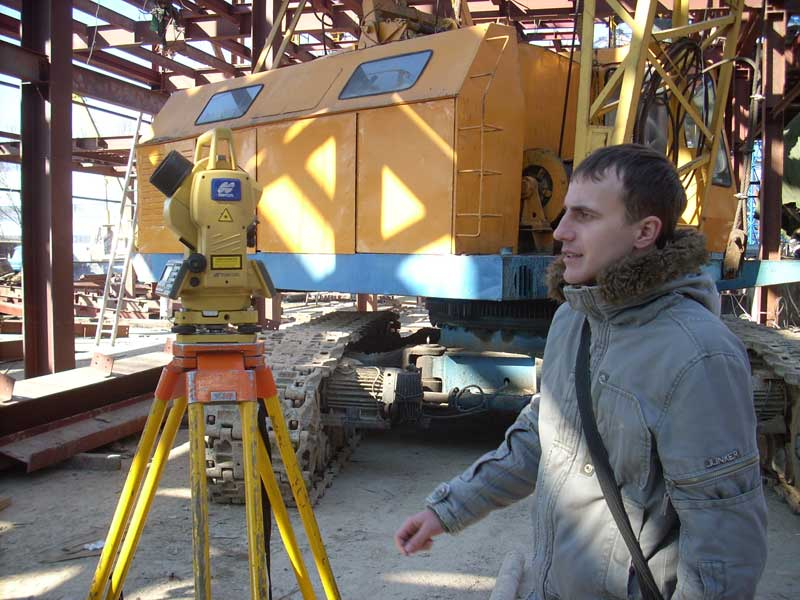 removal of the boundaries of the site, geodetic works,geodetic services in Odessa