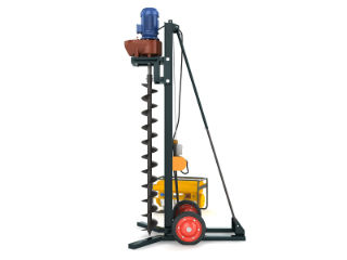 Auger drilling