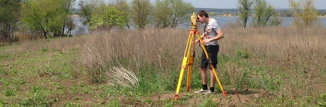 Geodetic works in land management